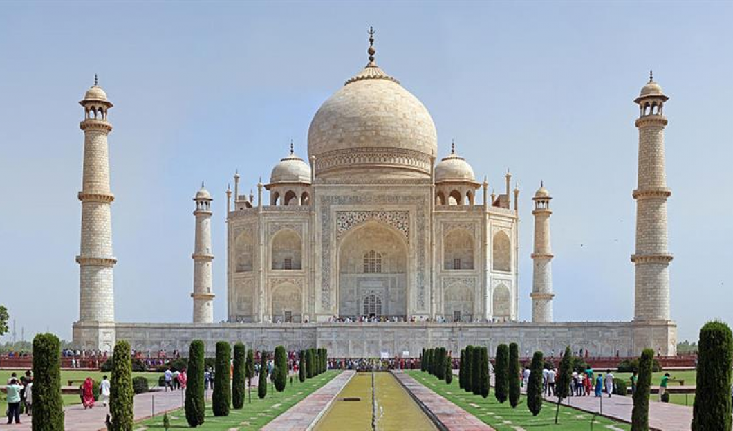 10) Taj Mahal, Agra, Indien