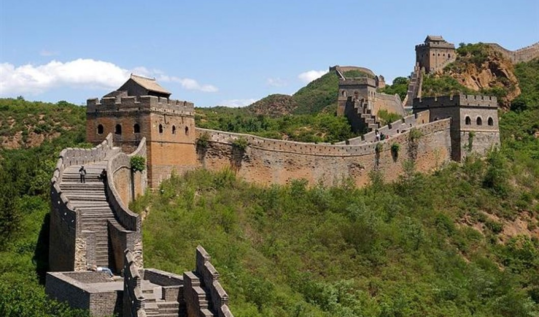 2) Chinesische Mauer, China