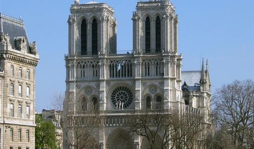 1 ) Notre-Dame de Paris, Paris, Frankreich