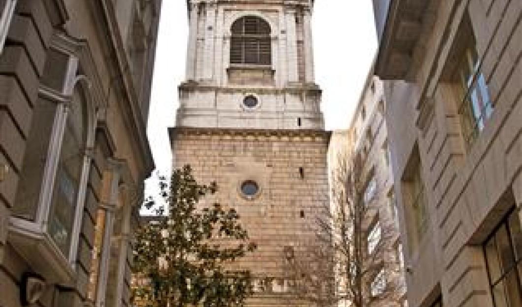 St. Bride's Kirche