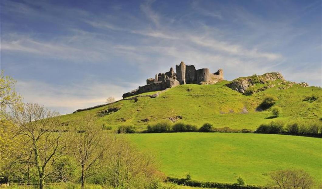 Carreg Cennen Castle, Wales.