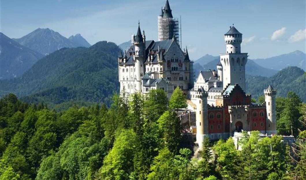 Schloss Neuschwanstein, Deutschland.