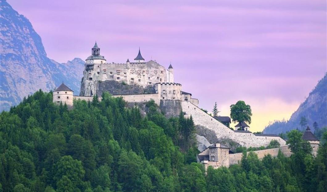 Schloss Hohenwerfen, Österreich.