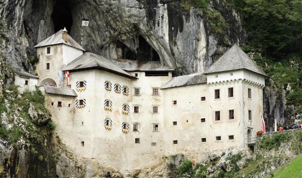 Schloss Predjama, Slowenien.