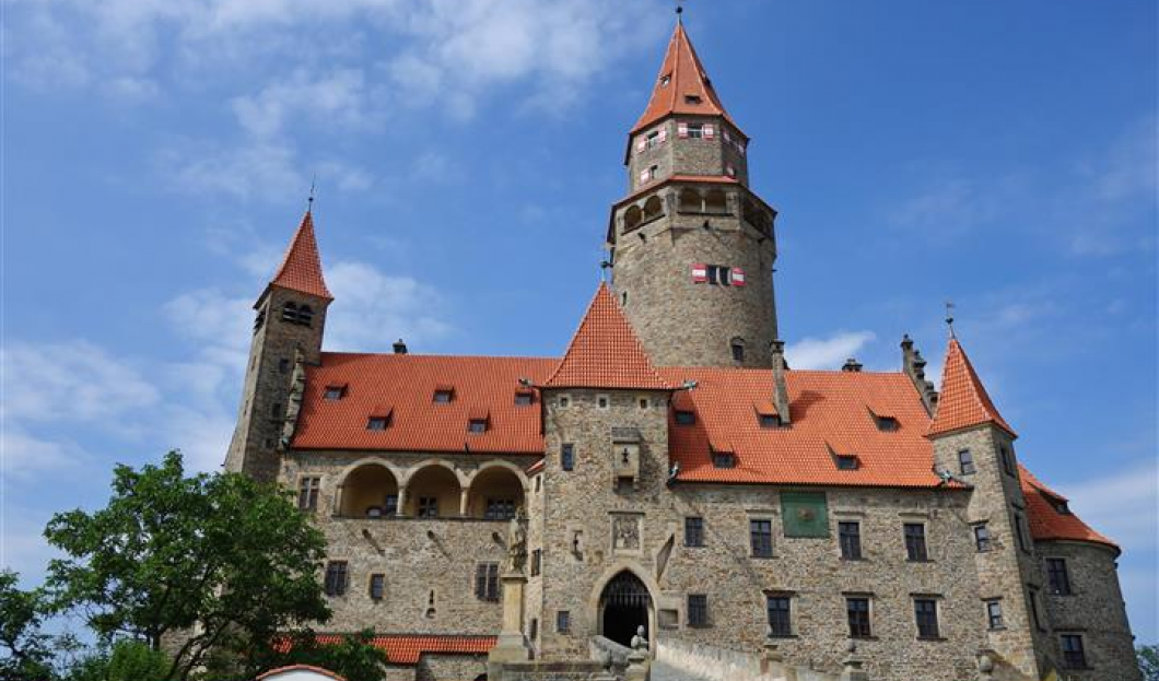 Schloss Bouzov, Tschechien.