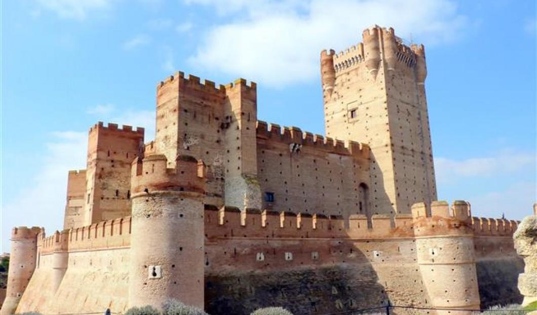 Castillo de la Mota, Spanien.