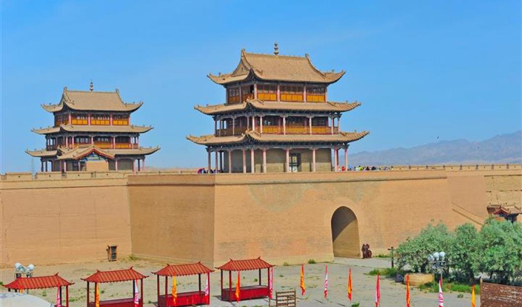 3. Große Mauer von Jiayuguan