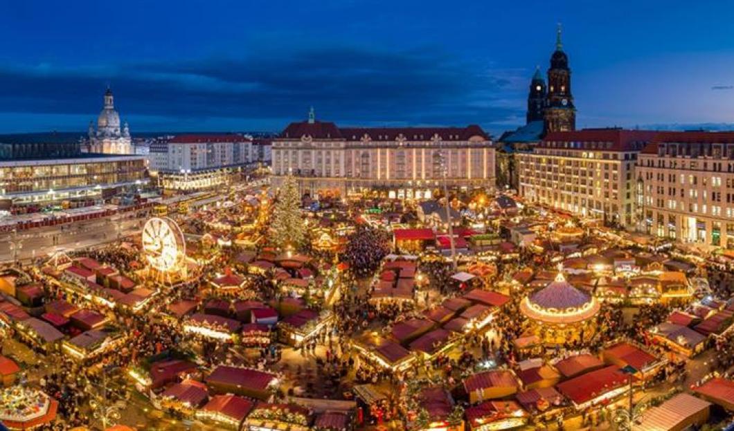 Der Dresdner Striezelmarkt